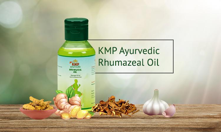 KMP Ayurvedic Rhumazeal Oil