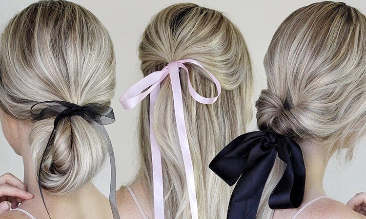 Ribbon Ponytail