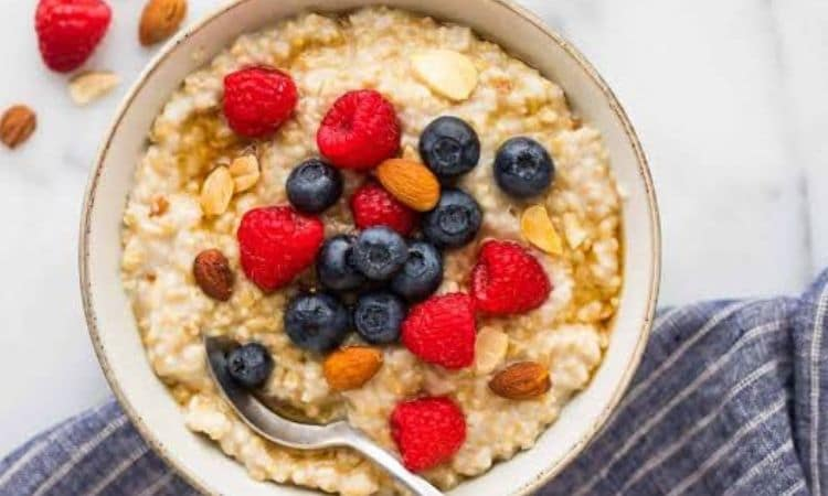 Oats with Fruits