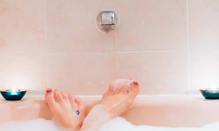 warm bath benefits