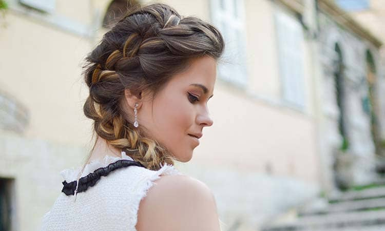 Long Hair Side Braid Hairstyle