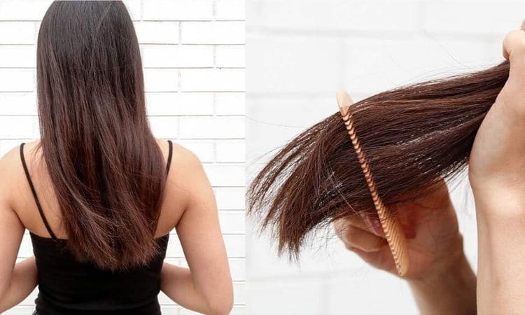 how to cut split ends without losing length