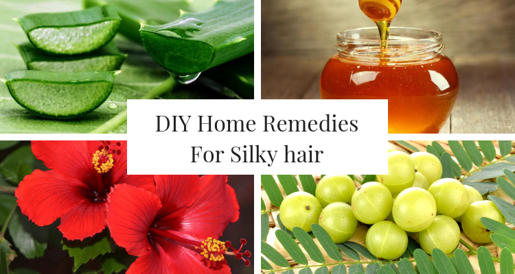 DIY Home Remedies For Silky hair