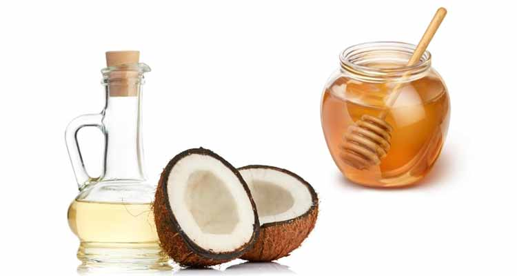 Fusion of Honey and Pure Coconut Oil