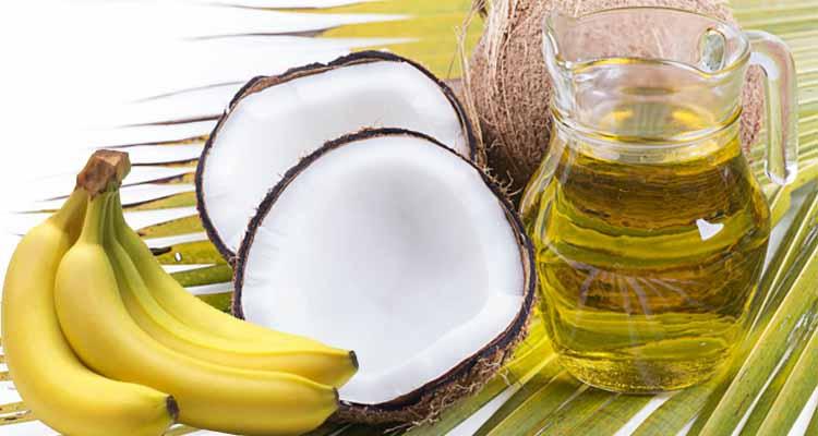 Banana and Coconut Hair Oil