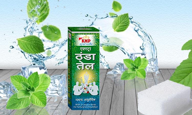 Organic Ayurvedic Ingredients Of Extra Cool Oils