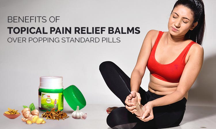Topical Pain Relief Balm