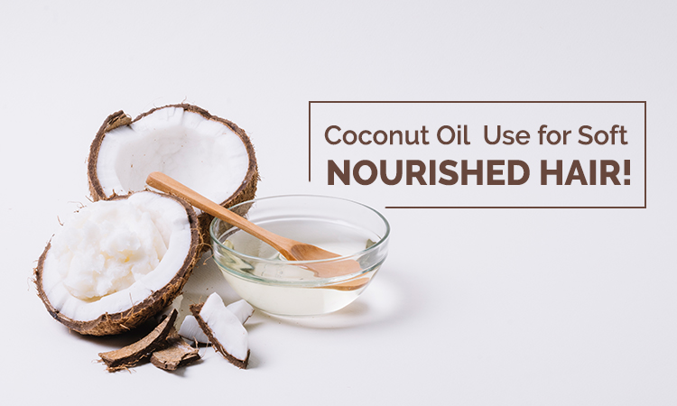 use coconut oil for hair growth