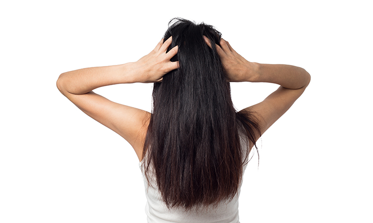 Scalp massage for natural hair growth