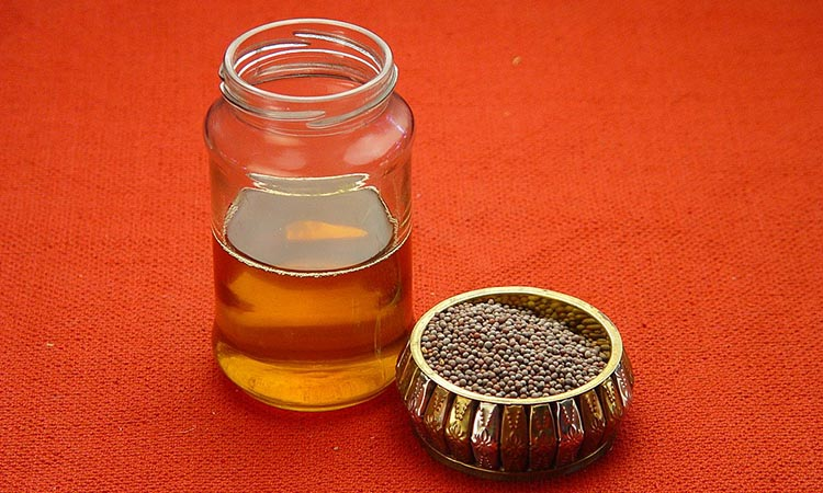 Mustard Oil for Body Massage