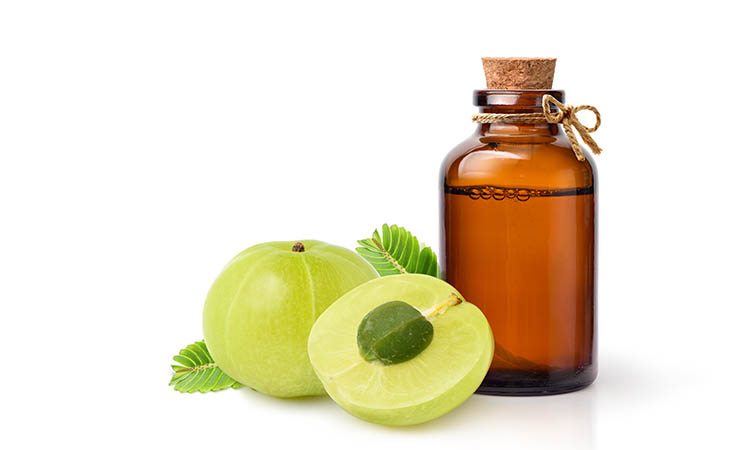 Amla oil is an excellent oil for hair and skin as well