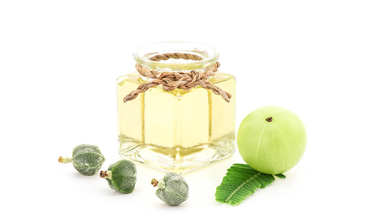 Amla oil may help to stimulate hair growth
